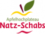 Logo of the Natz-Schabs apple plateau, which hosts the Flötscherhof Hotel